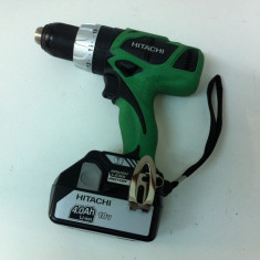 Bormasina - Hitachi DS 18DBL Fabricatie 2012 noua