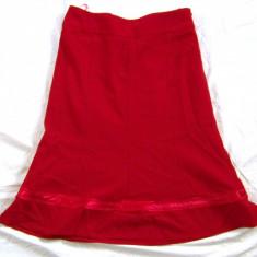 Fusta rosie eleganta marimea 36