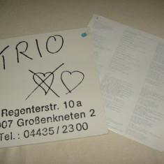 LP Trio-Regenterstr /Da Da Da-Mercury 1981 Germany vinil vinyl - Muzica Rock rca records