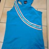 Maieu dama sport, Culoare: Albastru, Marime: M, Tricouri
