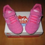 Adidasi piele naturala Lonsdale marimi 29, 31, 32 - Adidasi copii, Culoare: Roz
