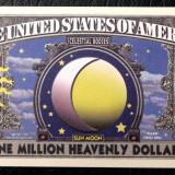 Bancnota Straine, America de Nord, An: 2004 - BANCNOTA FANTASY NOTE SUA USA SERIA PLANETE SOARE SI LUNA ECLIPSA UNC **