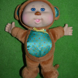 Papusa Cabbage Patch Kids orginala, costum de maimuta, 23 cm, plus, cauciuc - Papusa de colectie