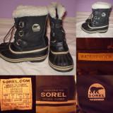 Cizme SOREL  Waterproof (34) copii zapada iarna impermeabile ghete panza