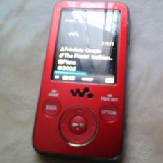 MP3 player Sony, 4GB, Rosu, Display, FM radio - MP3 WALKMAN SONY NWZ-E436F 4 GB FUNCTIONAL