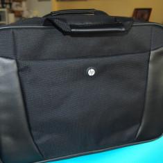 Geanta laptop / notebook 15 / geanta de umar / messenger bag / HP - absolut noua, 15 inch, Negru