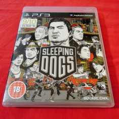 Joc Sleeping Dogs, PS3, original, alte sute de jocuri! - Jocuri PS3 Activision, Shooting, 18+, Single player