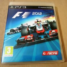 Joc Formula 1 2012, F1, PS3, original, alte sute de jocuri! - Jocuri PS3 Codemasters, Curse auto-moto, 3+, Single player