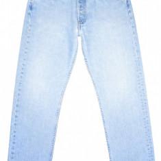 LEVI'S 501 - (MARIME: 32 x 30) - Talie = 80 CM / Lungime = 102 CM - Blugi barbati Levi's, Culoare: Bleu, Prespalat, Drepti, Normal