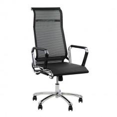 Scaun ergonomic de birou OFF 940 - Scaun birou, Mesh, Negru