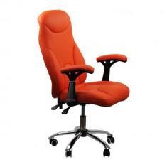 Scaun birou, Piele ecologica, Bej - Scaun de birou ergonomic OFF 801