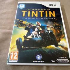 Joc The Adventures of Tin Tin the Secret of The unicorn, Wii, original, PAL - Jocuri WII Activision, Actiune, 3+, Multiplayer