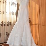 Vand rochie de mireasa Agnes Toma model exclusive 43E - Rochie de mireasa printesa
