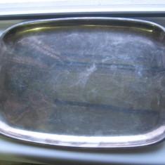 Tava veche marcata Silber Complet, metal argintat, perioada 1920-30