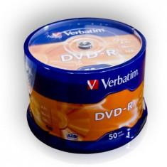 Dvd-R Verbatim 4, 7Gb 16X Set-50Buc