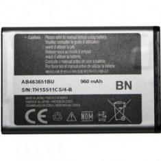 Baterie telefon, Li-ion - Acumulator Samsung S5620 Onix cod: AB463651B / AB463651BA / AB463651BE / AB463651BEC / AB463651BU