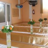 Vaze sticla cilindru H40 D9 - Suport flori