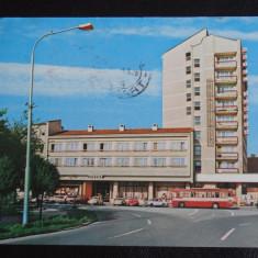 Vedere/Carte postala - RPR - Satu Mare - intreg postal