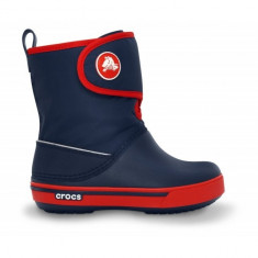 Cizme de iarna pentru copii Crocs Crocband II.5 Gust Boot Kids (CRC12905-NAV ) - Cizme copii Crocs, Marime: 23.5, 25.5, 27.5, 29.5, 32.5, 33.5, 34.5, Culoare: Bleumarin