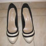 Pantofi dama, Piele intoarsa - Pantofi