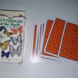 Colectii - Pachet 54 de carti de joc, Butterflys of the world, cu tematica lepidoptere, fluturi