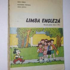 Limba Engleza manual pentru clasa a III-a, 1991 - Curs Limba Engleza