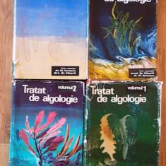 TRATAT DE ALGOLOGIE- SUB REDACTIA ACAD. ST. PETERFI, AL. IONESCU- VOL I, II, III, IV - Carte Biologie