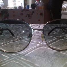 Ochelari de soare dama originali mont blanc, italy, Femei, Albastru, Wayfarer, Metal, Protectie UV 100%