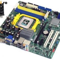 Placa de Baza PC Acer, Pentru AMD, AM2, DDR2, Contine procesor, MicroATX - KIT PLACA DE BAZA AM2 ACER M420 + DUAL CORE X2 5400B 2x2.80GHZ+COOLER | GARANTIE