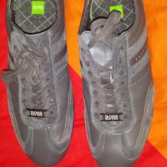Adidasi Hugo Boss originali !!! - Adidasi barbati Hugo Boss, Marime: 43, Culoare: Nespecificat, Piele naturala