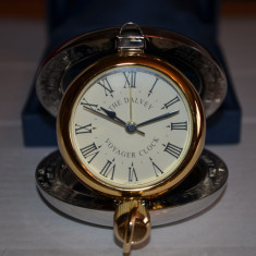 Ceas desteptator - CEAS DE CALATORIE -VOYAGER CLOCK -De firma DALVEY -Alarma -Vintage -99 lire -NOU