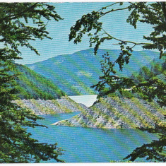 Carte postala necirculata Remeti barajul, lacul Lesu judet Bihor - Carte Postala Transilvania dupa 1918