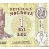 MOLDOVA 1 LEU 2006 [3] P-8g, VF - bancnota europa