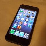 iPhone 5 Apple black 16 gb neverlocked, Negru, Neblocat