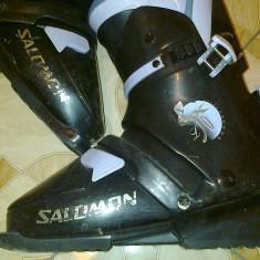 Clapari marca Solomon si Nordica si Ski-uri marca Fischer, Marime: 38