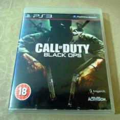 Joc Call of Duty Black Ops, PS3, original, alte sute de jocuri! - Jocuri PS3 Activision, Shooting, 18+, Single player