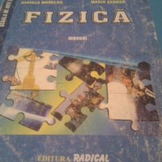 FIZICA MANUAL CLASA IX---X - Manual scolar, Clasa 9