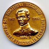 MEDALIE ECATERINA TEODOROIU 1917-1992 75 ANI DE LA TRECEREA IN ETERNITATE - Medalii Romania