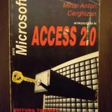 Carte IT - INTRODUCERE IN ACCES 2.0 - MIHAI ANTON CERGHIZAN