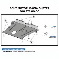 Scut motor metalic Dacia Duster - Scut motor auto, Universal