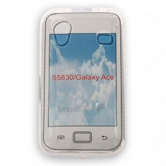 Husa Samsung Galaxy Ace S5830 Procell Silicon Transparent - Husa Telefon