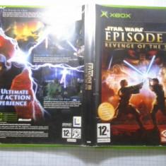 Jocuri Xbox, Actiune, 12+, Single player - Star Wars Episode III Revenge of the sith-XBox classic (Comp XBox 360)(GameLand)
