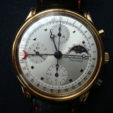 Ceas de mana barbatesc, mecanic, cronograf (chronograph) ALFRED ROCHAT si fii