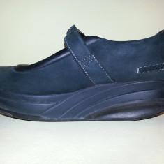 Pantofi MBT Kaya Black - Incaltaminte ortopedica, 38, Negru