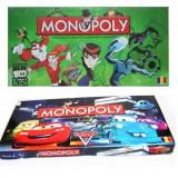 Monopoly in limba romana cu diverse personaje animate - Jocuri Board games