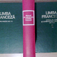 LIMBA FRANCEZA - CURS PRACTIC, ANII I-II, MANUAL DE LIMBA SI CORESPONDENTA COMERCIALA, ANII III-IV, MANUAL DE CONVERSATIE IN LIMBA FRANCEZA - Curs Limba Franceza Altele