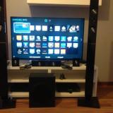 Televizor 3D Samsung, 40 inchi (102 cm), Full HD, Smart TV - TV LED 3d Samsung 101 cm + Home Cinema Samsung 5.1 + 2 perechi ochelari Samsung 3D