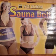 Velform Sauna Belt pentru slabit / Fitness / tonifica muschi - Aparat pentru abdomen