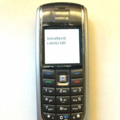 Telefon Nokia, Negru, Nu se aplica, Vodafone, Fara procesor, Nu se aplica - Nokia 6020 - POZE REALE !