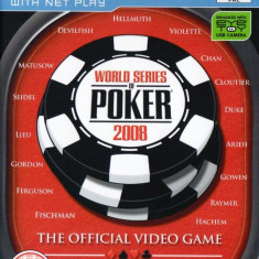 Jocuri PS2 Activision, Simulatoare, 12+, Single player - World Series of Poker 2008 - Joc ORIGINAL - PS2